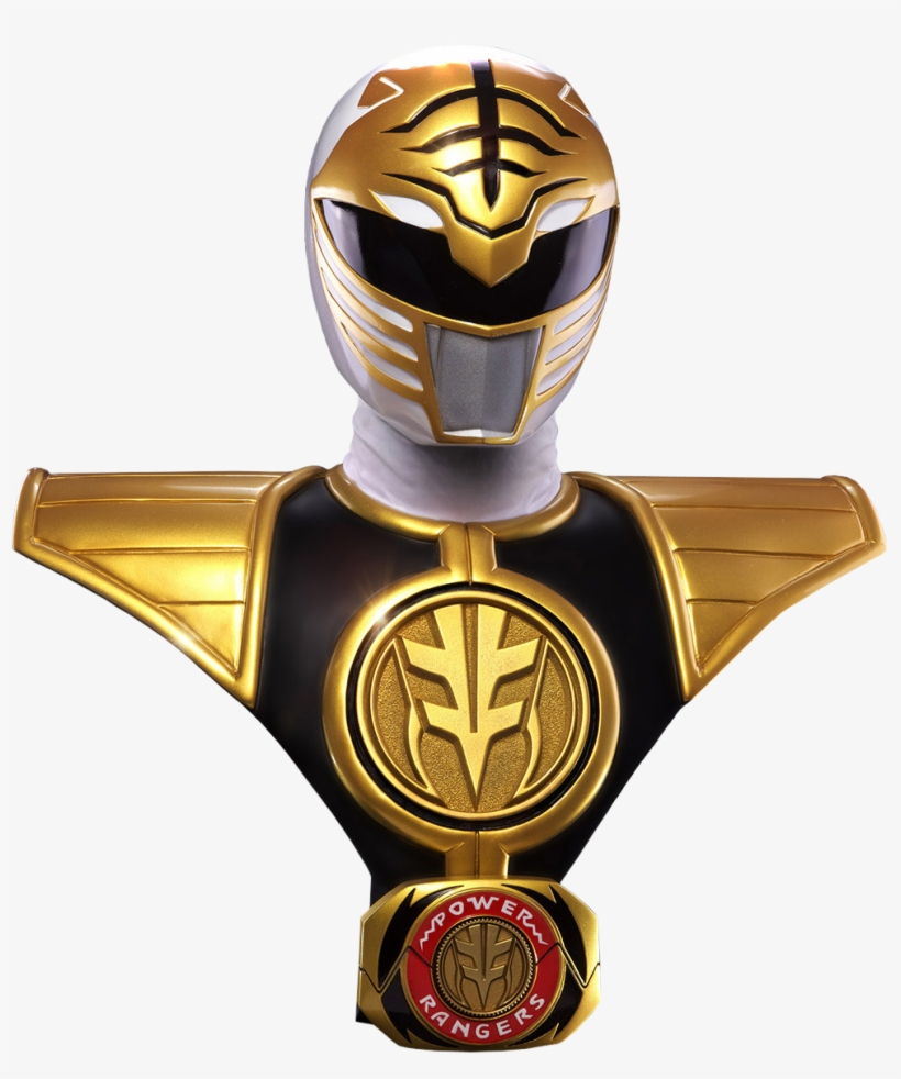 Mighty - Mighty Morphin Power Rangers White Ranger Png, transparent png #3300733
