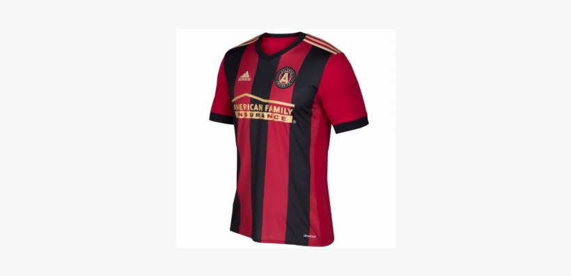 best loved 548d8 72fa9 Atlanta United Fc Home Jersey 2017-18 - Atlanta United Fc ...