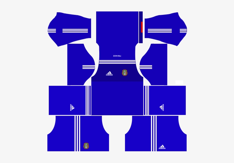 Mexico Kits & Logo Url 2017 Dream League Soccer - Dream League Soccer Kit 2017 Real Madrid, transparent png #3301437
