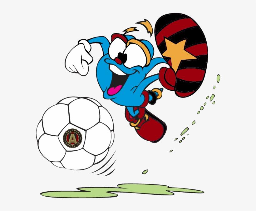 Bring Back The Olympics Mascot Izzy For Atlanta United - Izzy Mascot, transparent png #3301520