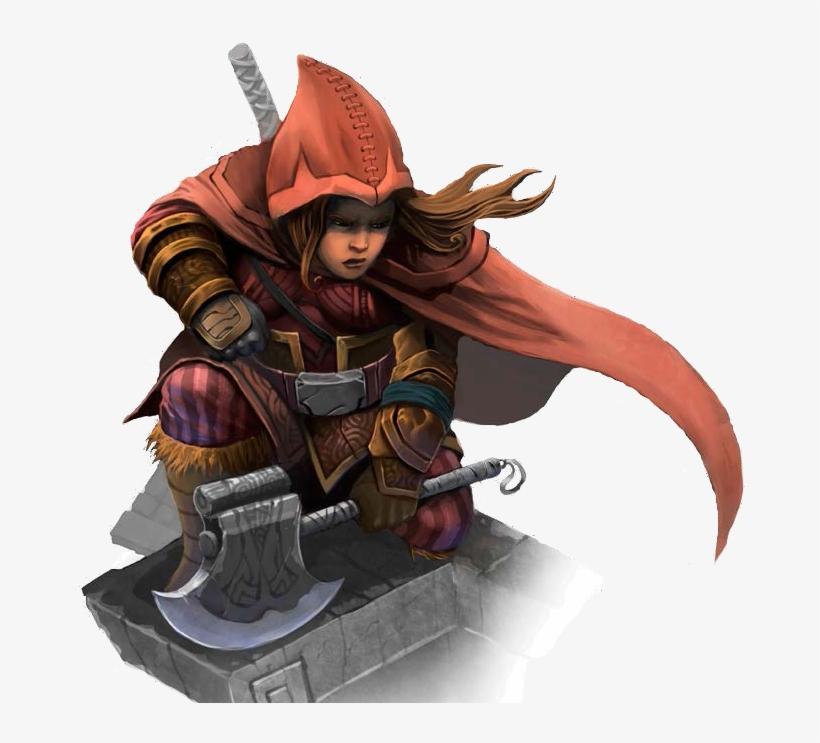 Female Dwarf Rogue - Female Dwarf Rogue Pathfinder, transparent png #3305179