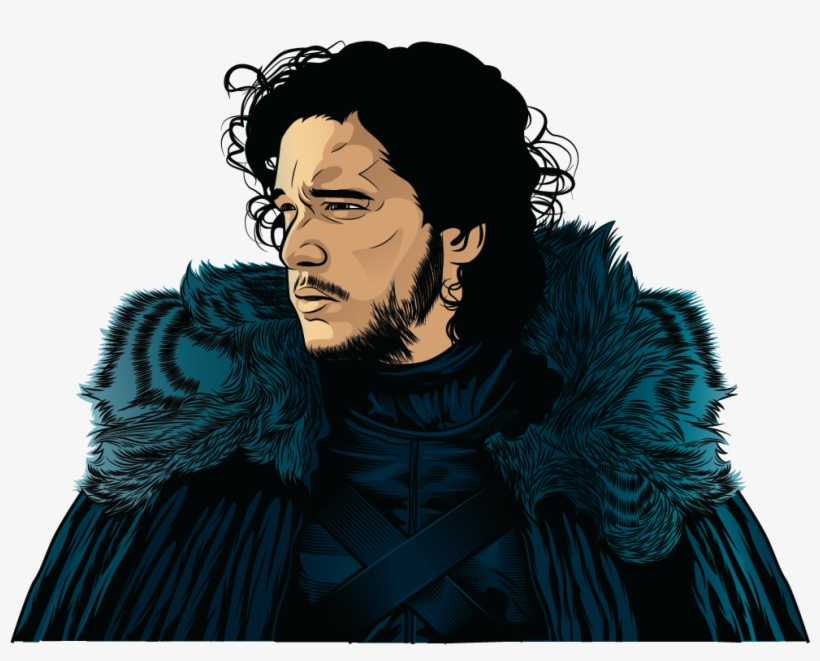 c95d79e7c I Was Creating Jon Snow Vector Art With The Photo From - Game Of ...