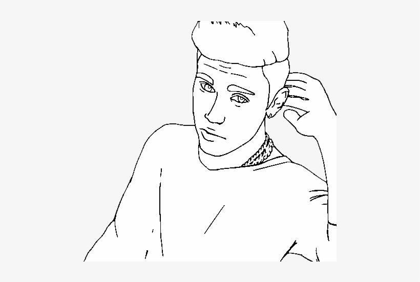 Justin Bieber Popstar Coloring Page Desenho De Justin Bieber Para