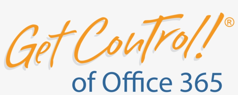 Get Control Of Office 365®, Onedrive® And Windows 10® - Get Control, transparent png #3308725