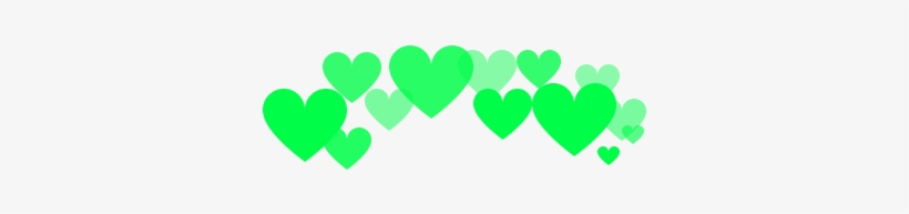 117 Images About Png For Edits - Green Hearts Tumblr Png, transparent png #3309893