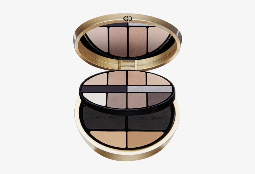 And In The Run Up, There's Only One Thing On Our Minds - Giorgio Armani Luxe Is More Holiday Palette, transparent png #3312901