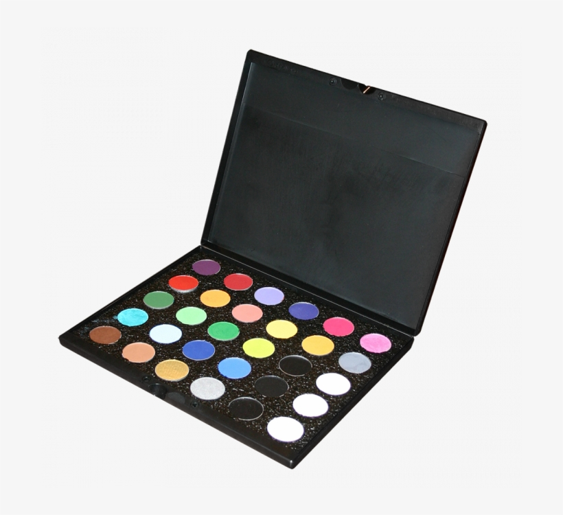 Mehron Paradise Makeup 30 Color Palette 187098 By Mehron - Mehron Paradise 30 Pan Face Paint Palette, transparent png #3313261