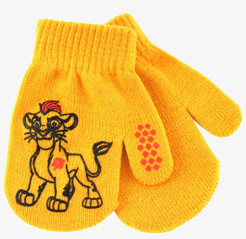 Mittens - Kids Kion Mittens - Lion Guard One Size Multi-colored, transparent png #3313774