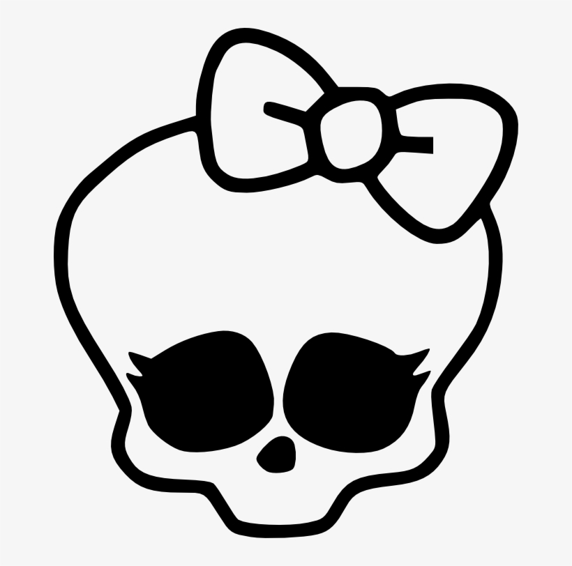 Monster High Skull - Draw A Monster High, transparent png #3315128