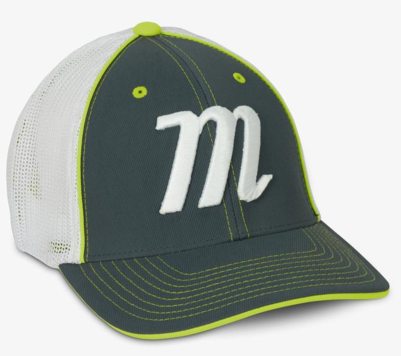 82acc1431a7 Trucker Stretch Fit Hat - Marucci Trucker Hat Gray yellow Small medium