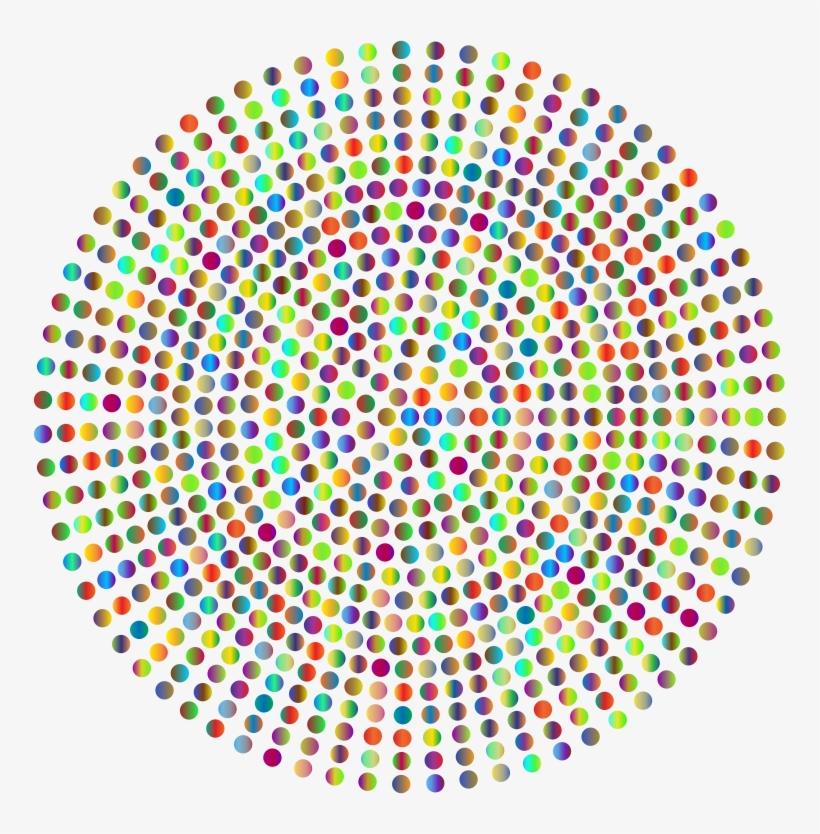 Logo Halftone Fotolia Company - Pattern Radial Dots, transparent png #3315729