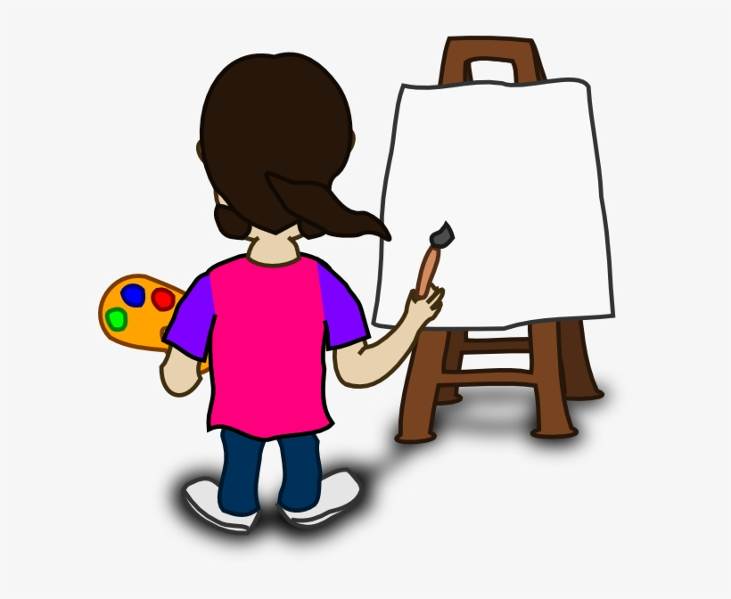 Small - Painter Clipart - Free Transparent PNG Download - PNGkey