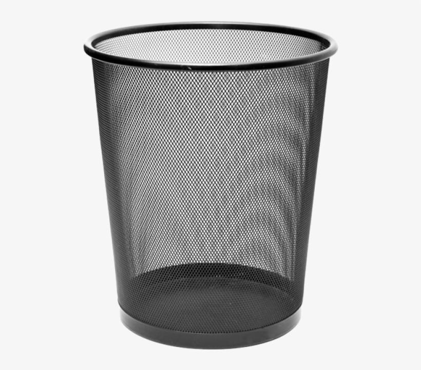 Cassa Executive Metal Mesh Waste Bin Rgs Supplies Malta, - Trash Can, transparent png #3317791