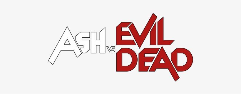 Ash Vs Evil Dead - Ash Vs Evil Dead Logo, transparent png #3318789