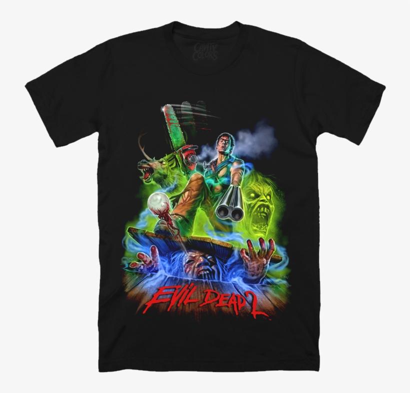 Hero Ash - T-shirt - Cavity Colors Evil Dead, transparent png #3318952