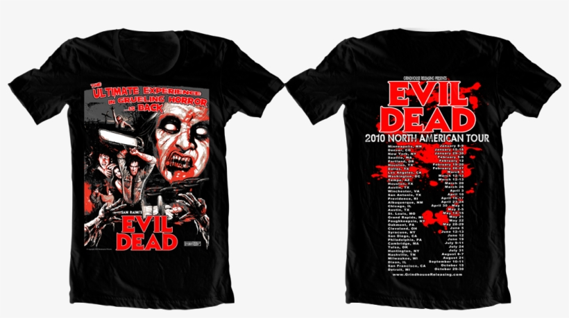 Check Out The Shirt Below, And Click Here For Screening - Koszulki Ash Vs Evil Dead, transparent png #3319231