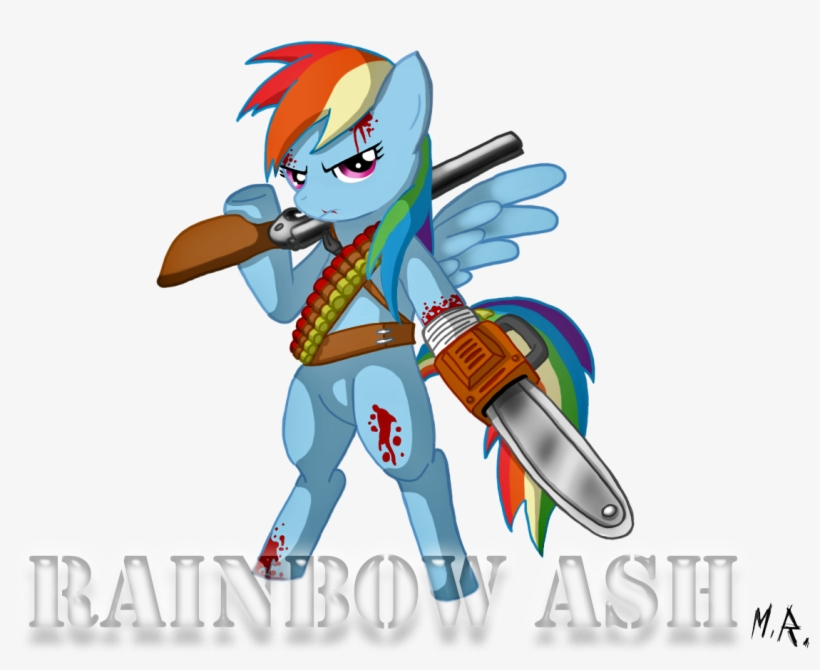 Evil Dead A Fistful Of Boomstick Evil Dead Hail To - My Little Pony Evil Dead, transparent png #3319622