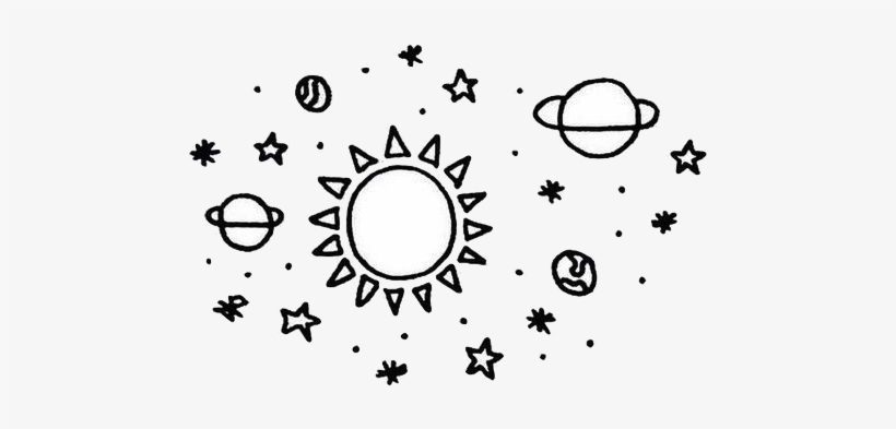 Transparents Tumblr Planet Drawing Simple Drawings Of Planets