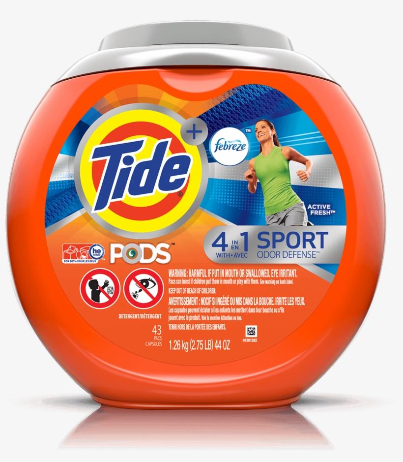 Tide Pods Odor Defense, transparent png #3325063