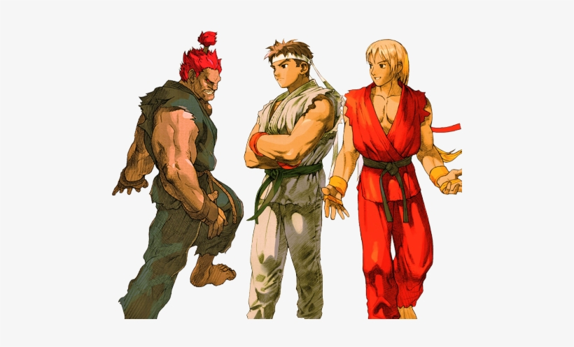 Transparent Street Fighter Ken Ryu Marvel Vs Capcom - Marvel Vs. Capcom 2: New Age Of Heroes, transparent png #3325613