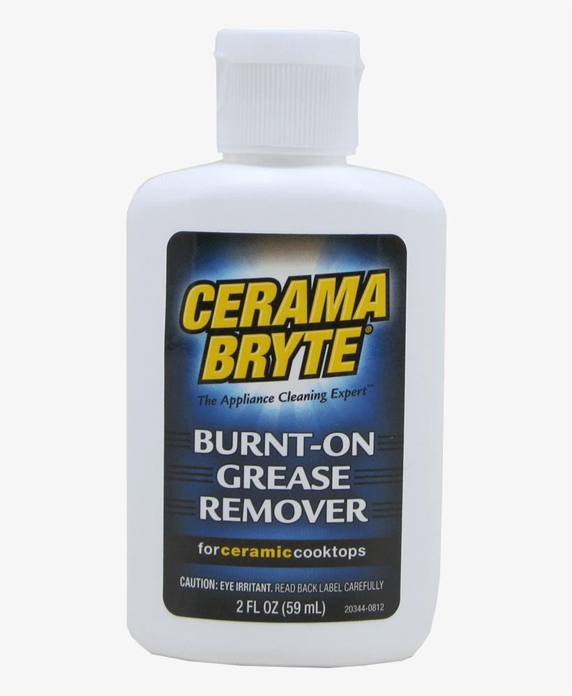 Burnt-on Grease Remover - Cerama Bryte Burnt On Grease Remover, 60ml Bottle, transparent png #3327704