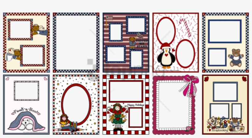 image about Printable Frame named Severely Printable Sbook Borders And Frames 2954