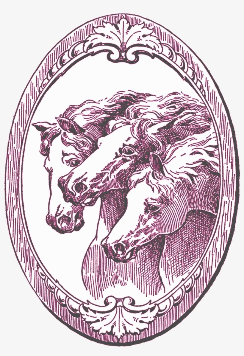 Vintage Horse Illustration, transparent png #3332324