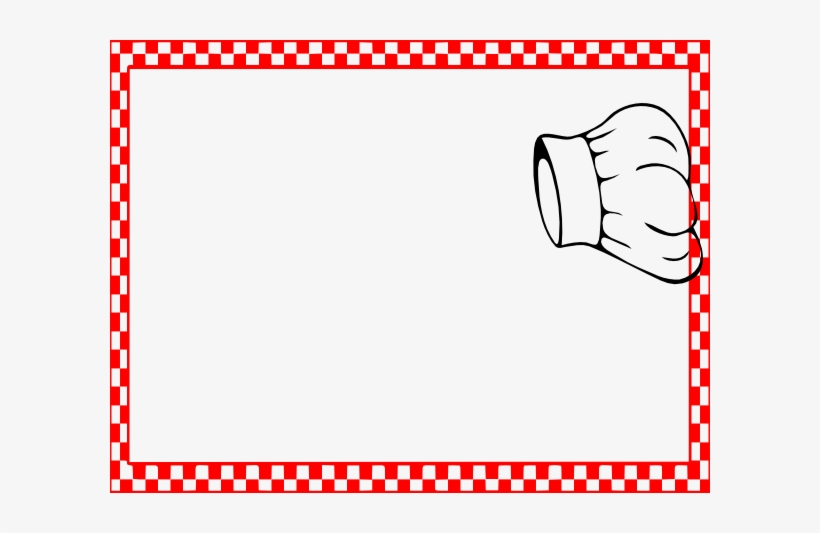 Download Red And White Border Png Clipart Clip Art Cooking Border Clip Art Free Transparent Png Download Pngkey