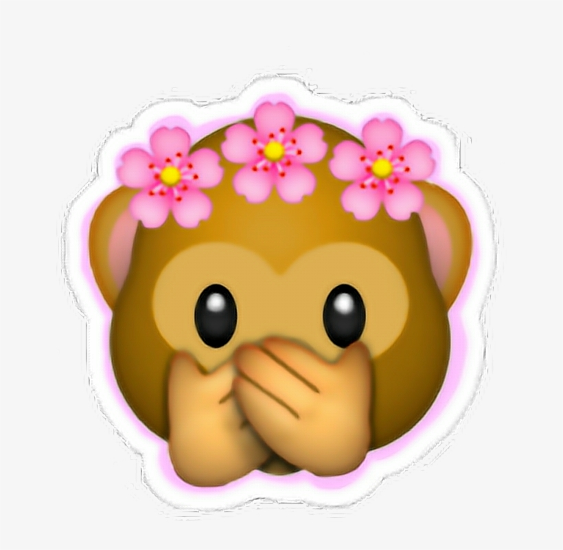 Sticker Money Emoji Crown Flowers Flowercrown Pink Emojis De
