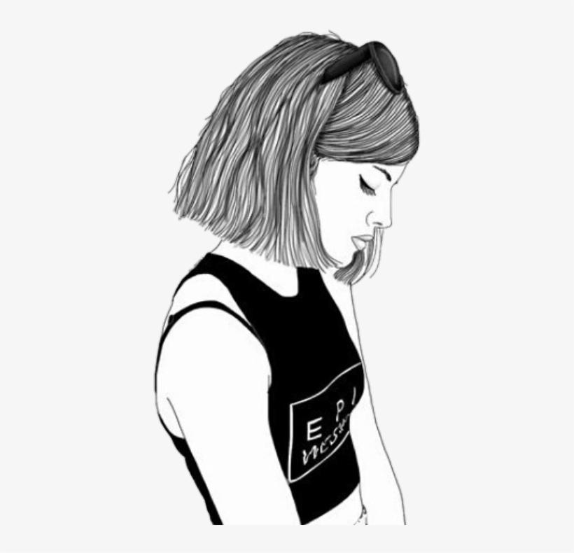 Resultado De Imagen Para Dibujos Tristes A Lapiz Tumblr Girl