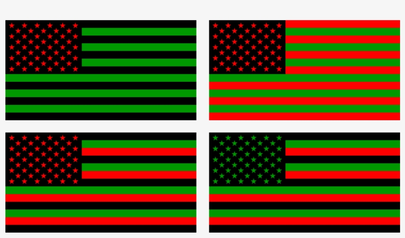 Similar To David Hammon's African-american Flag Are - Inverted American Flag (distress Signal) Yard Sign, transparent png #3334489