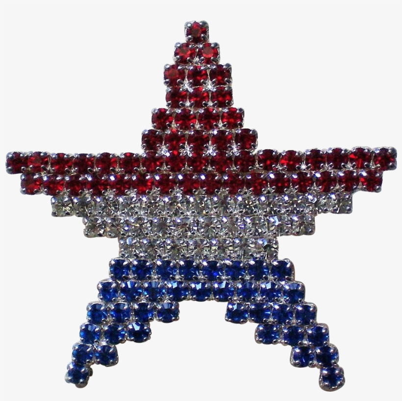 This Beautiful Star Has The Red, White, And Blue Colors - Flag Of The United States, transparent png #3334623