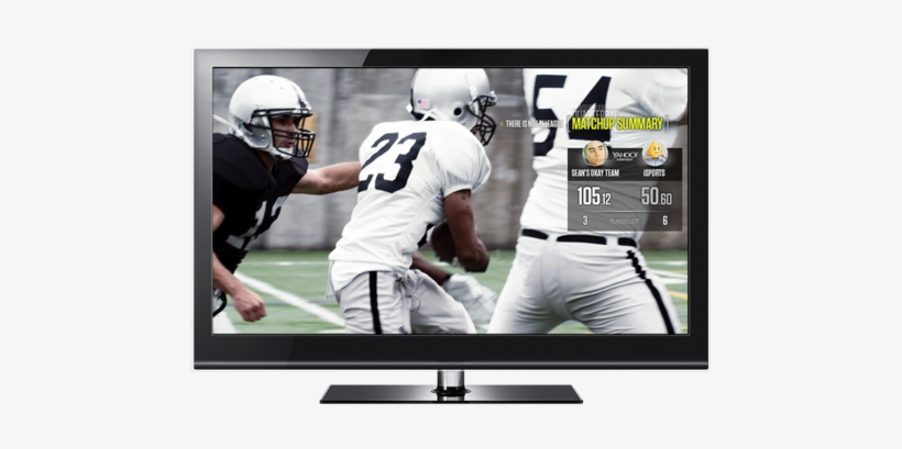 Look For The On-screen Prompts On Your Samsung Smart - Tv With Sports Playing, transparent png #3335246