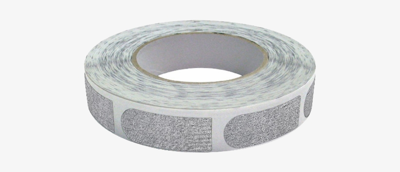 """Real Bowlers Tape Silver 3/4"""" Tape Textured - 500 Pieces, transparent png #3347135"""