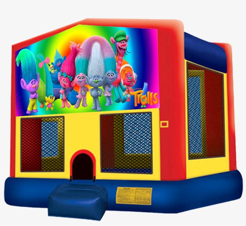 Trolls Jumper $80 - Pj Mask Bounce House, transparent png #3347577
