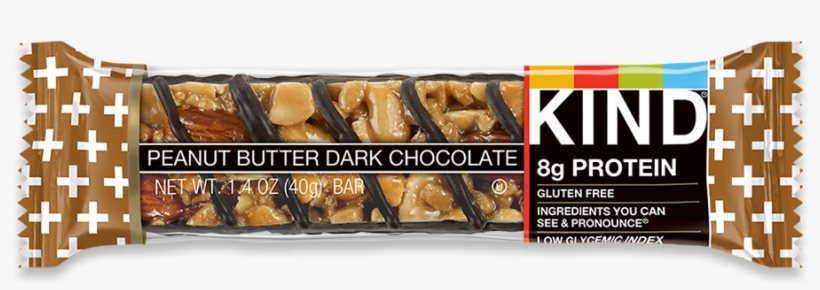 Peanut Butter Dark Chocolate - Peanut Butter Dark Chocolate Kind Bar, transparent png #3347894