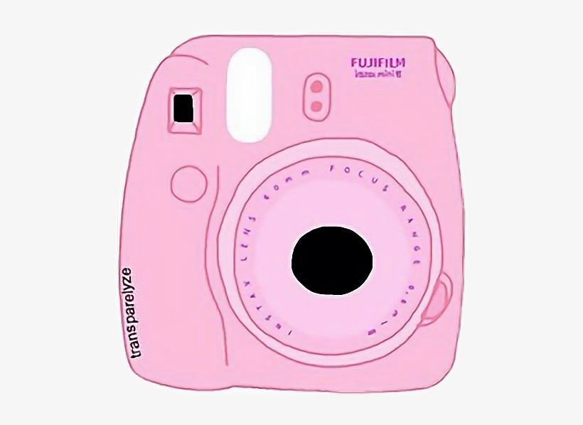 Tumblur Alishamaire Pinkcamera Freetoedit - Transparent