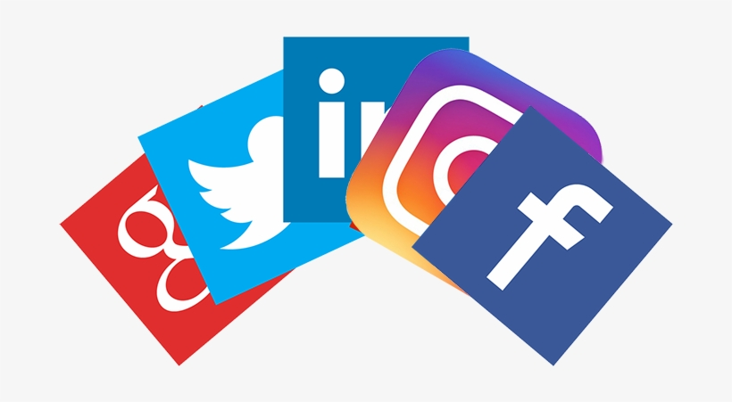 1) Integration To Facebook, Twitter, Instagram, Linkedin - Social Media Promotion In Tourism Destination, transparent png #3353664