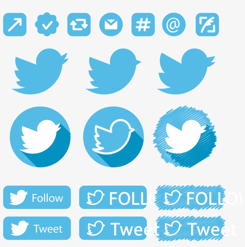 Social Media Twitter Icon - Media Social Icon Blue, transparent png #3353710