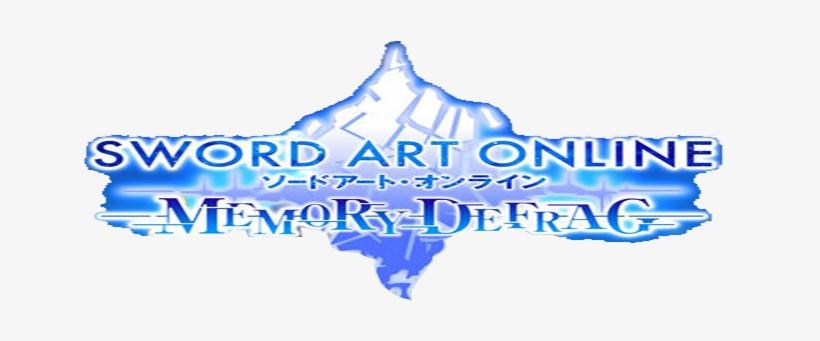 Resources Generator - Sword Art Online Memory Defrag Logo, transparent png #3357169