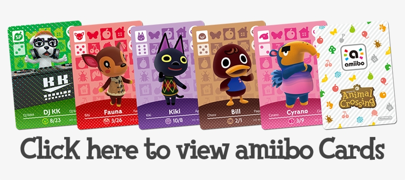 Click To View Amiibo Cards - Nintendo Animal Crossing Series 1 Single Pack, transparent png #3360729