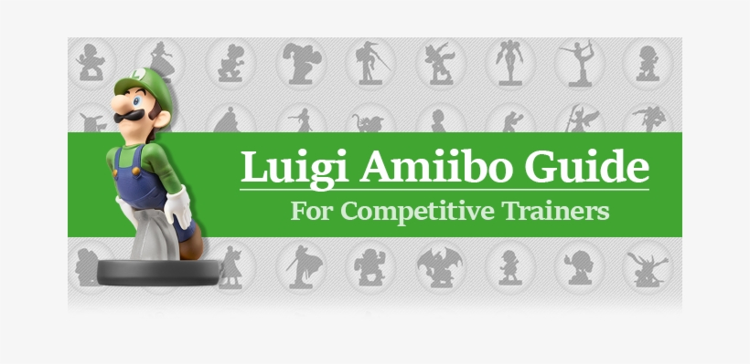 Amiibo Training Guide - Nintendo Luigi Amiibo (super Smash Bros Series), transparent png #3361140