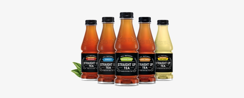 Straight Up Tea - Snapple Straight Up Tea Unsweetened, 18.5 Fl Oz Bottle, transparent png #3361672