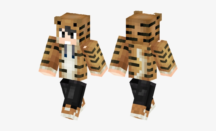 Skin Minecraft Cute Boy Free Transparent Png Download Pngkey