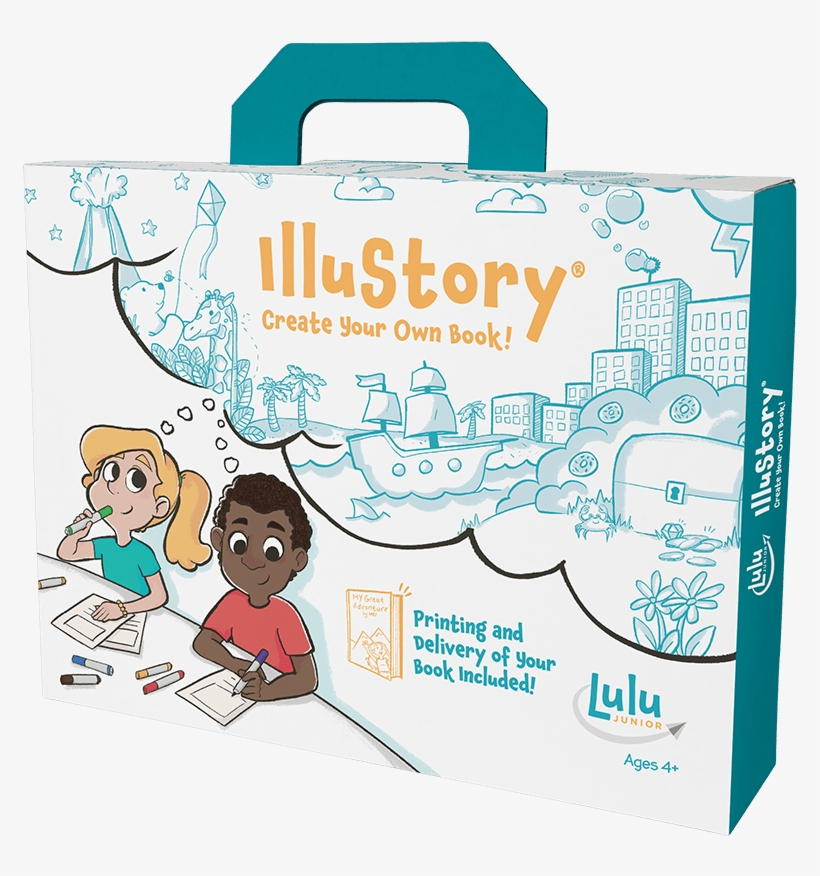 Drawing And Storytelling With Illustory, A Complete - Creations By You Illustory - Create Your Own Book, transparent png #3365421