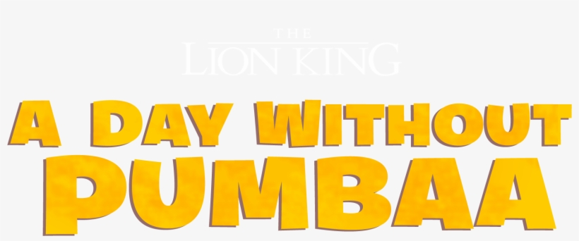 The Lion King - The Lion King: A Day Without Pumbaa, transparent png #3366542