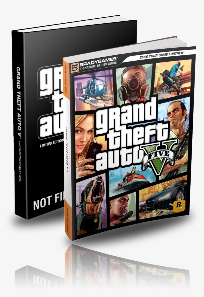 Bradygames Grand Theft Auto V Signature Series Strategy - Grand Theft Auto V Signature Series Guide Book, transparent png #3366949