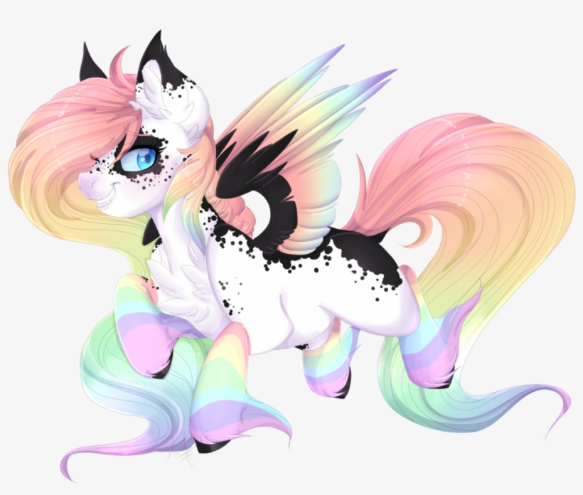 Silent Shadow Wolf, Art Trade, Colored Wings, Female, - Wolf Art With Wings, transparent png #3367107