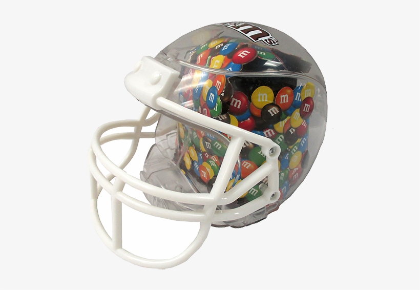 M&m's Football Helmet Candy Dish For Fresh Candy And - M&ms Football Helmet, transparent png #3368638