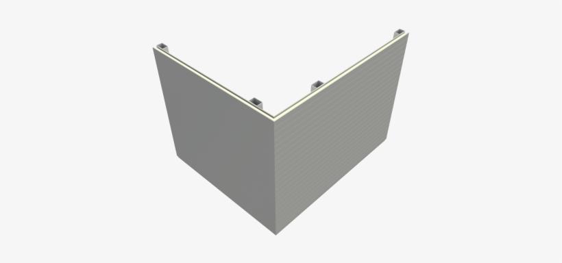 Inspire® Pir Secret-fix Wall Panel - Bondor Wall Fixing Detail, transparent png #3369056